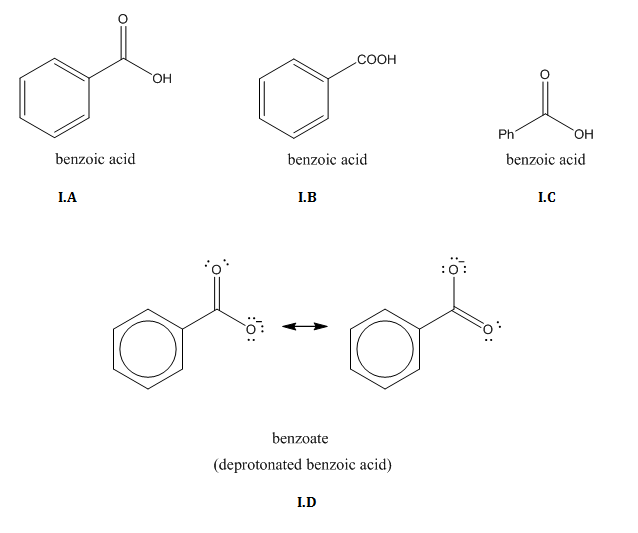 Images of benzoate
